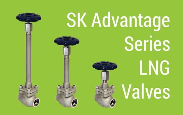 SK Advantage Series LNG Valves